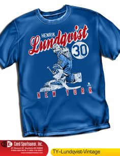 HENRIK-LUNDQUIST-NHL066-NY-RANGERS-NHLPA-VINTAGE-SERIES-SHIRT-100-COTTON