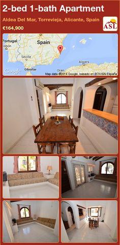 2-bed 1-bath Apartment in Aldea Del Mar, Torrevieja, Alicante, Spain ►€164,900 #PropertyForSaleInSpain