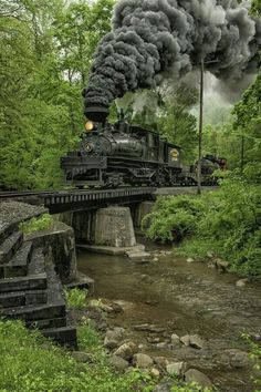 There's a certain, indescribable magic to the old fashioned train. They are fascinating and mysterious.