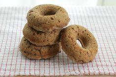 Easy Applesauce Oatmeal Doughnuts for Kids