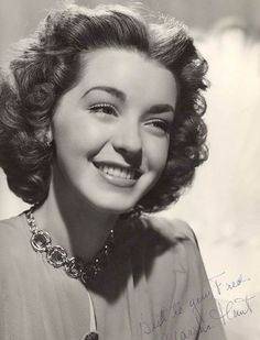 Marsha Hunt, one of Chicago's own home-grown actresses.