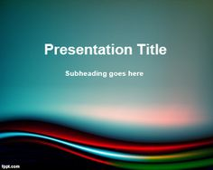 FPPT PowerPoint Template (Free Splendor), abstract background