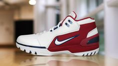 """When you can buy LeBron James' """"First Game"""" Nike Air Zoom Generation retro."""