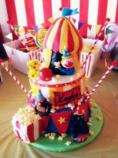 Carnival-Circus cake