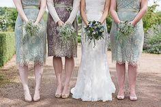 Nancy Mac Bridesmaid Dresses  - Maggie Sottero Bronwyn Wedding Dress | Rachel Simpson Mimosa Bridal Shoes | The Barn at Brynich Wales | Rustic Wedding | Natalie Martin Photography | http://www.rockmywedding.co.uk/liz-nathan/