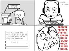 Online Quiz Rage