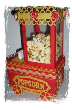 Popcorn machine surprise