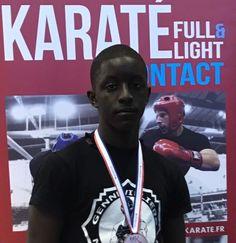 Sow Mountaka 3ième au Championnat National de Full Contact (Honneur-Elite) – 8 avril 2017   Karate Contact Gennevilliers