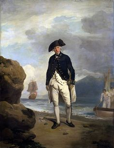 Arthur Phillip Vice-Admiral, first Governor of New South Wales by Francis Wheatley, oil on canvas, 1786 (National Portrait Gallery). Gopro, Arthur Phillip, Master And Commander, Botany Bay, University Of Melbourne, Military Officer, National Portrait Gallery, 3 Arts, Royal Navy