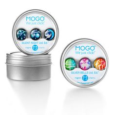 Gifts for Teen Girls: MOGO Charm bracelet and tin ($24)