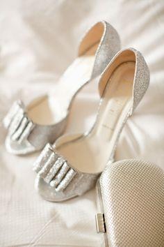 Glittery wedding shoes - BHLDN