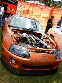 Imagine the turbo lag! Tuner Cars, Jdm Cars, Stance Nation, Lamborghini, Volkswagen, Toyota Supra Mk4, Mustang, Porsche, Street Racing Cars