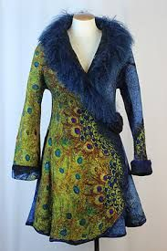 Image result for contemporary felting artists Cool Outfits, Fashion Outfits, Womens Fashion, Bohemian Style, Boho, Peacock Dress, Hippy Chic, Looks Vintage, Mantel