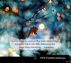 awesome Differences Make a Relationship Interesting