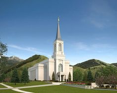 # 166. The Star Valley Wyoming Mormon~L.D.S.Temple. © 2015, Intellectual Reserve, Inc. All rights reserved.