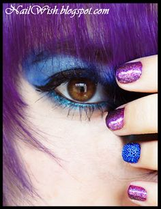 Blue Fish Eggs and Purple Hair