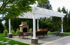 Special Features ~ Outdoor Fireplace | Liedstrand Landscaping