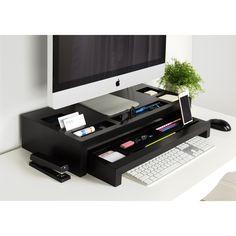 Home Office Decor Cool Desktop, Office Desktop, Diy Organizer, Home Office Design, Home Office Decor, Home Decor, Office Ideas, Office Designs, Desktop Organization
