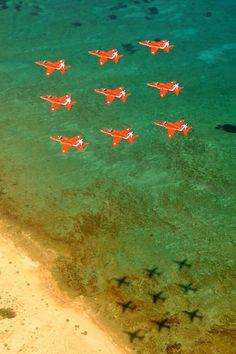 Training in Cyprus #reds50 Orange on Green ...