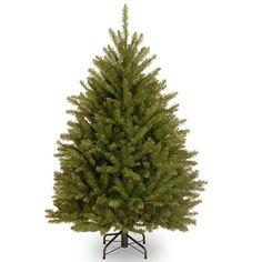 Christmas Tree 4.5 Foot With Metal Stand Xmas Fir Trees Holiday Decoration  #NationalTreeCompany
