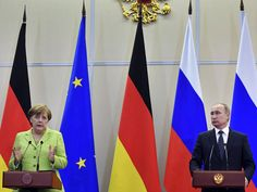 Angela Merkel has publicly raised concernsover the reported persecution of gay men in Chechnya with Vladimir Putin, following wide-ranging talks. The German Chancellor raised the alleged capture and torture of more than 100 people at a joint press conference with the Russian Presidentin Sochi. http://www.independent.co.uk/news/world/europe/angela-merkel-vladimir-putin-russia-talks-chechnya-gay-people-germany-ukraine-sanctions-syria-assad-a7713511.html