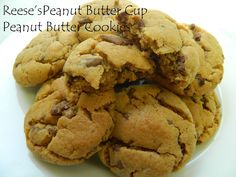 My Favorite Things: Reese's Peanut Butter Cup Peanut Butter Cookies