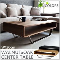 Center Table Living Room, Table Decor Living Room, Diy Room Decor, Home Decor, Tea Table Design, Wood Table Design, Side Table Decor, Industrial Design Furniture, Contemporary Coffee Table