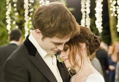 Edward and Bella dancing at their wedding reception - breaking dawn part 1