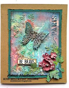 The Mixed Media Monthly Challenge Blog: Mixed Media Monthly Challenge #35 - What's Your Superpower?