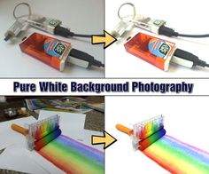Well... a smartphone, in this case... Picture of Pure White Background Photography Using Smartphone