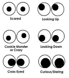 Printable Eyes Nose Mouth Templates | Places to Visit | Pinterest