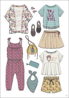 KIDS Minicool - Printemps / été 2018 - Kidswear - Styling forecasts- ...