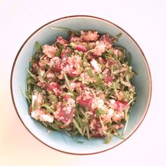 Quinoa salade met rode bietjes en feta