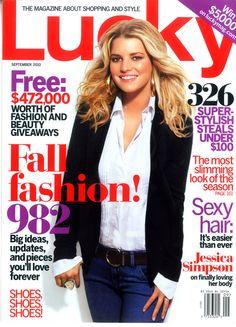 Wedding Dress Designer Heidi Elnora featured in Lucky September 2010