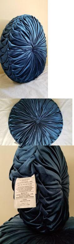 Decorative Bed Pillows 115630: New! Uxion Textile 20 Blue Round Tufted Decorative Velvet Throw Pillows -> BUY IT NOW ONLY: $23 on #eBay #decorative #pillows #uxion #textile #round #tufted #velvet #throw Decorative Pillows, Bed Pillows, Textiles, Velvet, Blue, Ebay, Things To Sell, Decorative Throw Pillows, Pillows