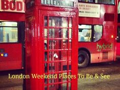 London for the Weekend Weekend In London, Places To See, Romance, Travel, Weekend London, Romance Film, Romances, Viajes, Destinations
