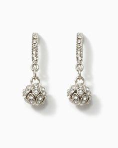 charming charlie | Antique Mirror Ball Earrings | UPC: 450900374914 #charmingcharlie