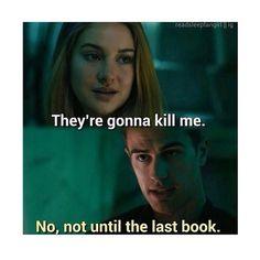 Fandom – Divergent - Tobias and Tris.