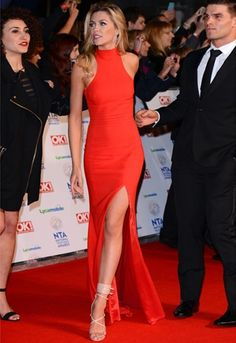 Anja Rubik rocking Alexandre Vauthier the cut and color. Dream dress so sexy yet not over done...Amazing!!!!!