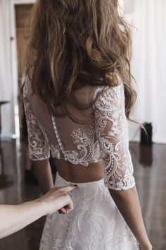 Rime Arodaky Bridal Fall 2017 / Wedding Style Inspiration / LANE