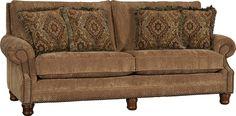Mayo Furniture 5790F Fabric Sofa - Merritt Cashew
