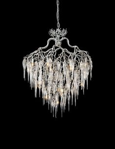 Our Hollywood handmade exclusive modern Chandelier. Part of our contemporary lighting collections. See all our modern luxury lighting at WWW.COM or contact us for custom lightng requests or interior design lighting projects. Luxury Lighting, Custom Lighting, Modern Lighting, Lighting Design, Decorative Lighting, Tree Lighting, Lighting Ideas, Glass Chandelier, Modern Chandelier