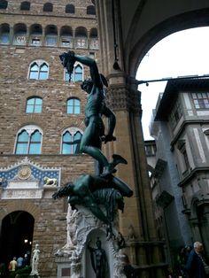 Perseus,Plaza de la Signoria,Florencia