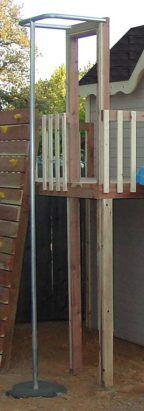 playhouse Fireman pole