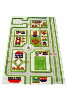 LUCA AND CO 'Traffic' Play Rug available at #Nordstrom x-mas present for both boys from Santa!!