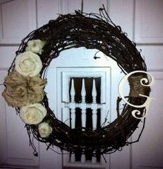 made a new wreath!!! <3 Givens