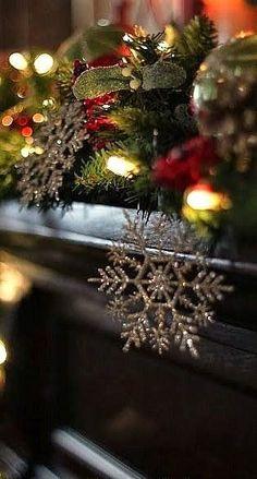 Christmas In Dixie Elegant Christmas, Merry Little Christmas, Noel Christmas, Victorian Christmas, Beautiful Christmas, Winter Christmas, Natural Christmas, Christmas Colors, Christmas Lights