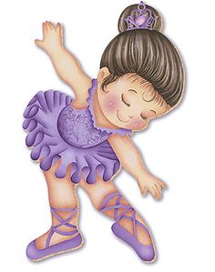 Discover recipes, home ideas, style inspiration and other ideas to try. Clipart Baby, Baby Ballerina, Ballerina Party, Painting Patterns, Fabric Painting, Baby Cards, Kids Cards, Famous Artists Paintings, Dance Crafts