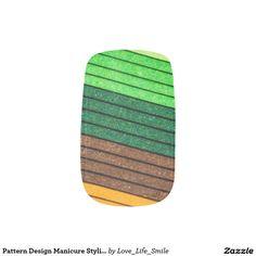 Pattern Design Manicure Stylish Chic Popular Style Minx® Nail Wraps