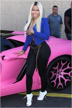 Celebs Out & About: Nicki Minaj, Khloe Kardashian, Terrence J, Wiz Khalifa- http://getmybuzzup.com/wp-content/uploads/2013/10/205388-thumb-600x900.jpg- http://getmybuzzup.com/celebs-out-about-nicki-minaj-khloe-kardashian-terrence-j-wiz-khalifa/- Celebs Out & About: Nicki Minaj, Khloe Kardashian, Terrence J, Wiz Khalifa By Sandra Rose Pop rapper and Kmart shopper Nicki Minaj was seen arriving at a Los Angeles area Kmart where she hosted the launch of her new Nicki Minaj C